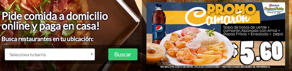Cupones Domicilios.com Ecuador