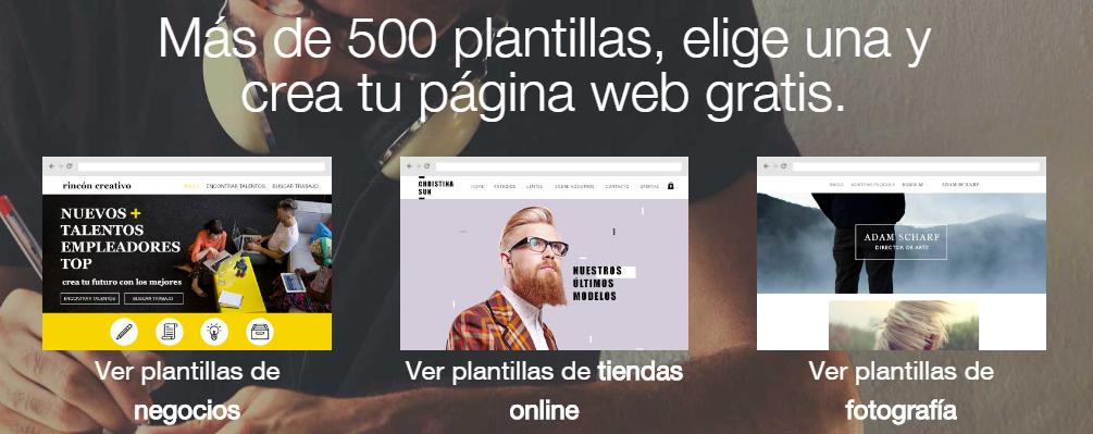 Wix Plantillas