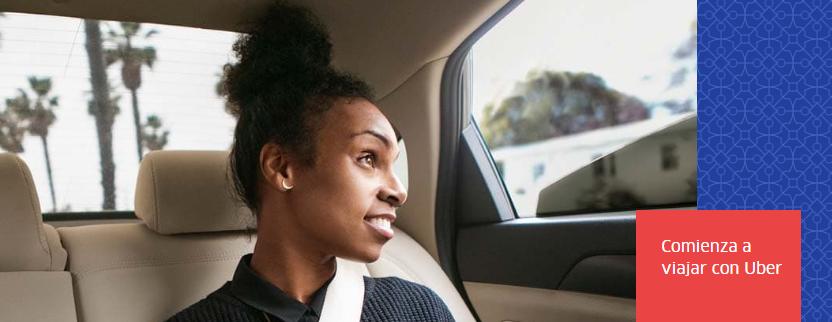 Viaja con Uber
